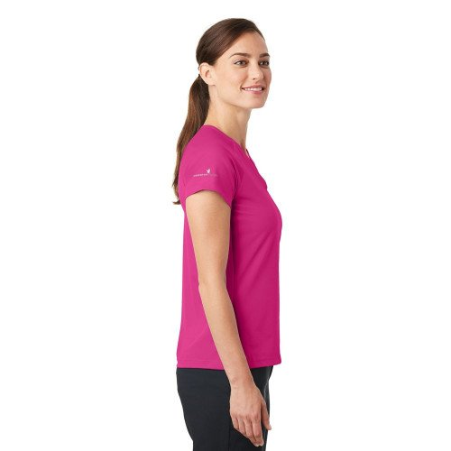 Nike Ladies Dri-FIT Stretch Woven V-Neck Top