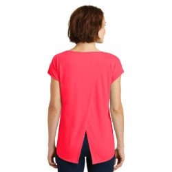 District Made Ladies Drapey Cross-Back Tee