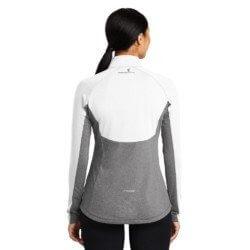 Sport- Tek Ladies Sport-Wick Stretch Contrast 1/2-Zip Pullover