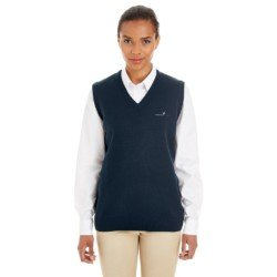 Harriton Ladies Pilbloc V-Neck Sweater Vest