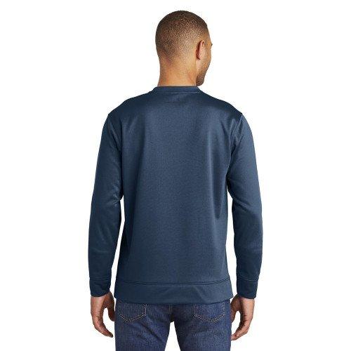 Port Authority Mens Performance Fleece Crewneck Sweatshirt
